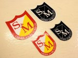 S&M BIKES_shield sticker
