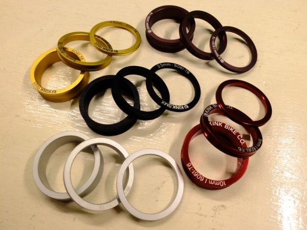 画像1: KINK_HEADSET STACK SPACER SET