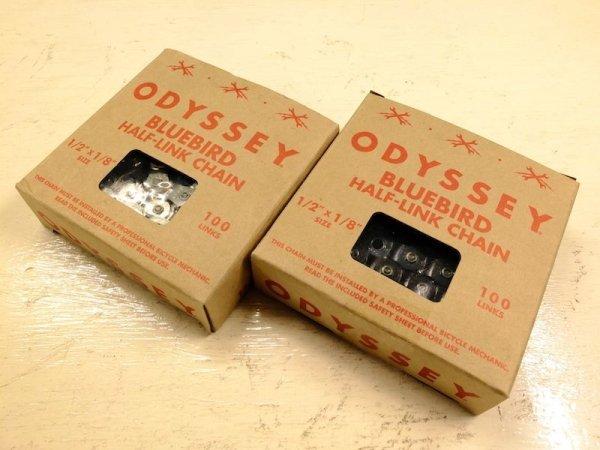 画像1: ODYSSEY_bluebird half-link chain